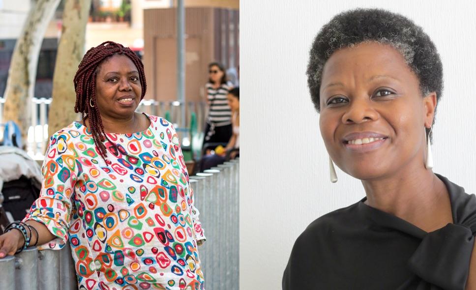 Remei Sipi y Angela Nzambi