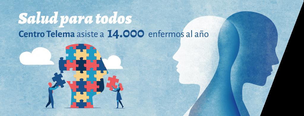 Salud para todos - Centro Telema asiste a 14.000 enfermos al año
