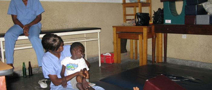 Dotación del Centro de paralíticos cerebrales Village Bondeko